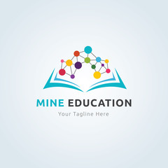 Mine education logo.