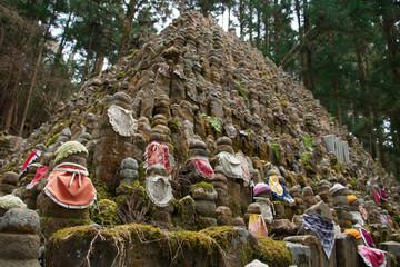 Der Okunoin Friedhof auf Koyasan