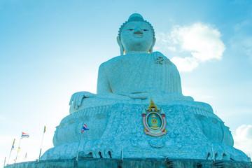 big buddha and blue sky