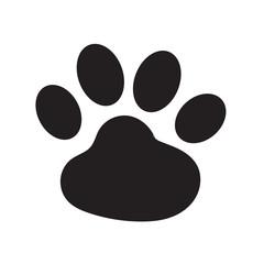 animal footprint icon Vector Illustration