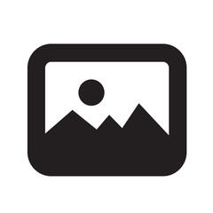 Photo icon vector illustration