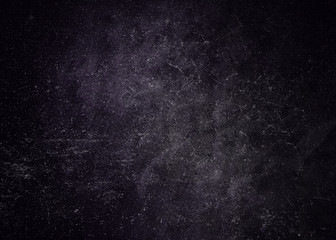 Dark purple school textured background. School board background chalk color texture vignette