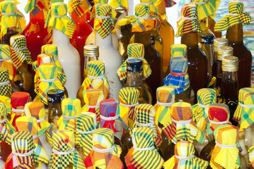 bouteilles de rhum arrangé
