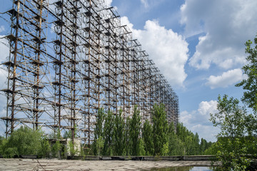 Duga over the horizon radar system in Chernobyl Exclusion Zone, Ukraine