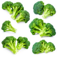 Set of broccoli