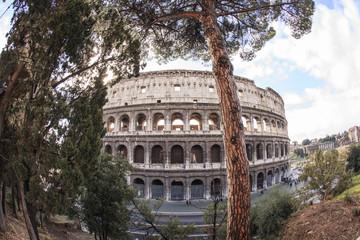 Il Colosseo e altri monumenti di Roma. Una città piena di storia.