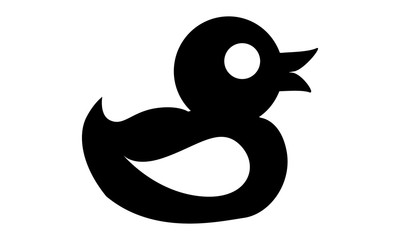 Pictogram - Duck, Rubber duck, Rubber duckie, Rubber ducky, Rubber duckling, Duckie, Ducky - Object, Icon, Symbol