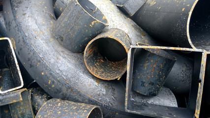 Stahlschrott, Nahaufnahme