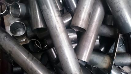 Reste von Eisenrohren