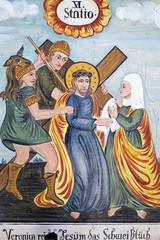 Wall Mural - Bildtafel zur Leidensgeschichte von Jesus Christus