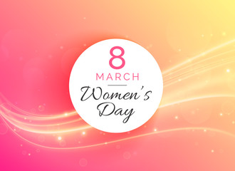 march 8 international woman's day celebration background