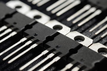 Black power transistors