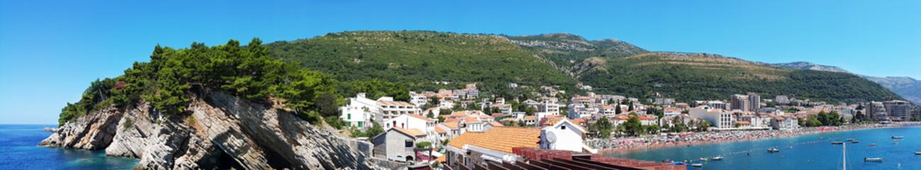 City Budva in Montenegro