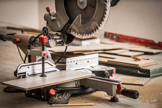 Board and miter saw