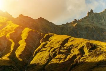 Wall Mural - Alpine Mountain Sunset