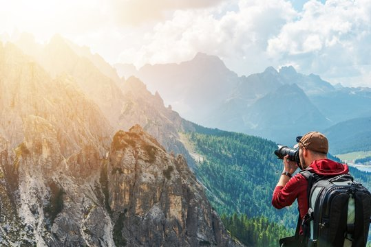 Photographer and Wilderness