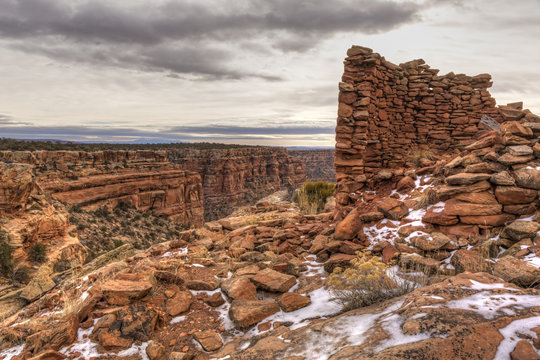 Tower Ruin on Mule Canyon