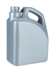 Plastic Motor Oil Container
