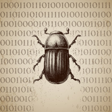 Vector software bug breaking binary code