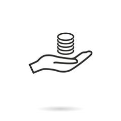 Salary - vector icon.