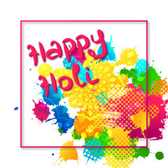 Holi holiday design.