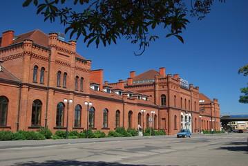 Skierniewice, Dworzec Kolejowy.