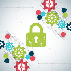 Protection concept. Security mechanism, system privacy.