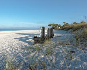 Morning shadows on St.. Pete Beach, Florida