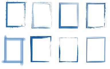 Rahmen Set blau