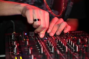 Dj UPP mixes the track nightc Club at party