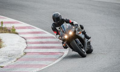 rider on a speed bike