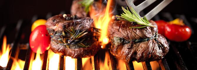 Filetfleisch vom Grill (Grillzeit)