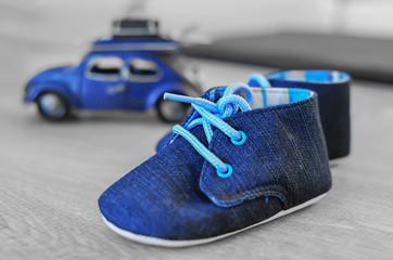 araba ve ayakkabı