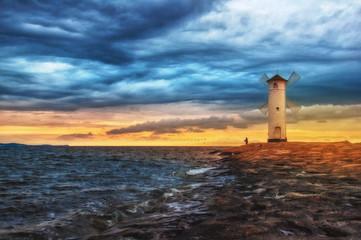 Świt nad Bałtykiem