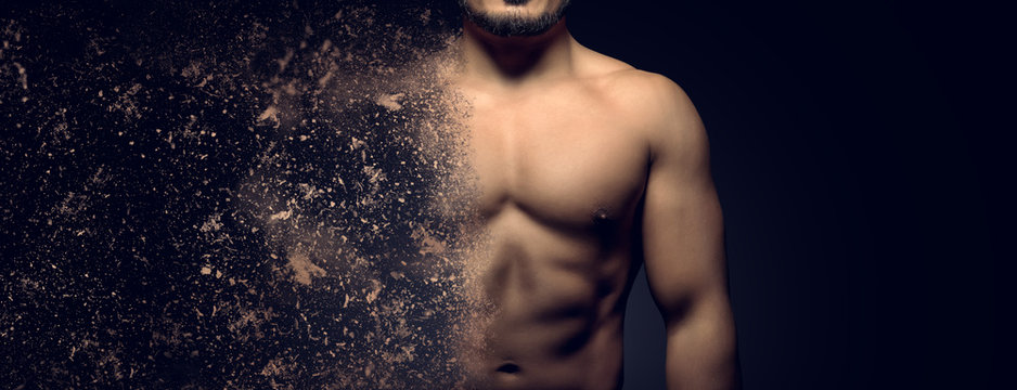 Building the perfect male body