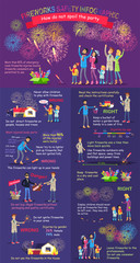 Instruction How to Display Firework. Safety Rules