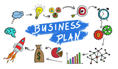 Business plan concept