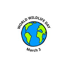 World Wildlife Day card