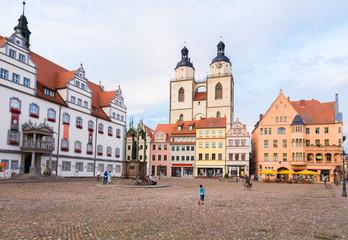 Rathaus und St. Marien