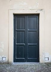Wooden Ancient Italian Door