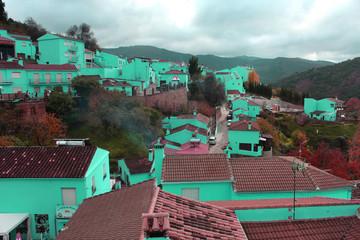Old rural village photo