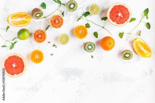 tangerine fruit colorful fruit