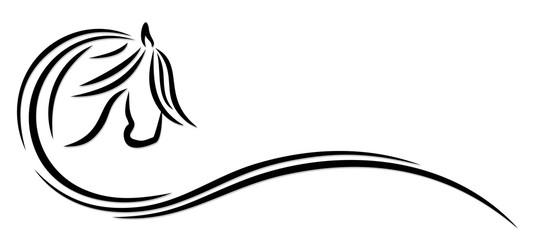Logo horse.