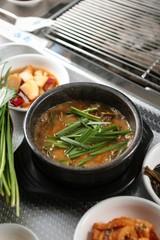 jangeo tang.  Eel Soup.
