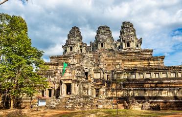 Ta Keo temple at Angkor, Cambodia