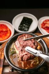 ttaro gukbap. Korean style Rice and Soup.