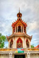 Wat Chana Songkhram, a Buddhist temple in Bangkok, Thailand
