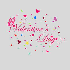 inscription Valentine's Day