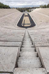 Panathenaic stadium or kallimarmaro in Athens,  Attica, Greece