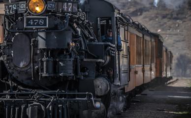 Locomotive in Durango Colorado